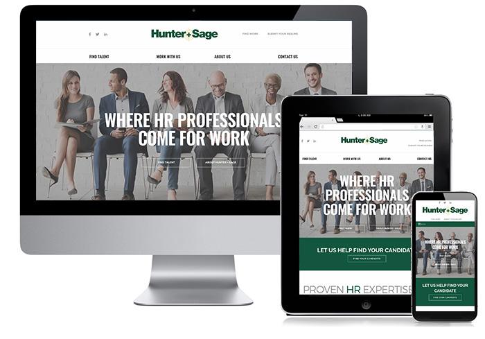 Mobile Responsive Design Services Houston Finance Recruiting Legal