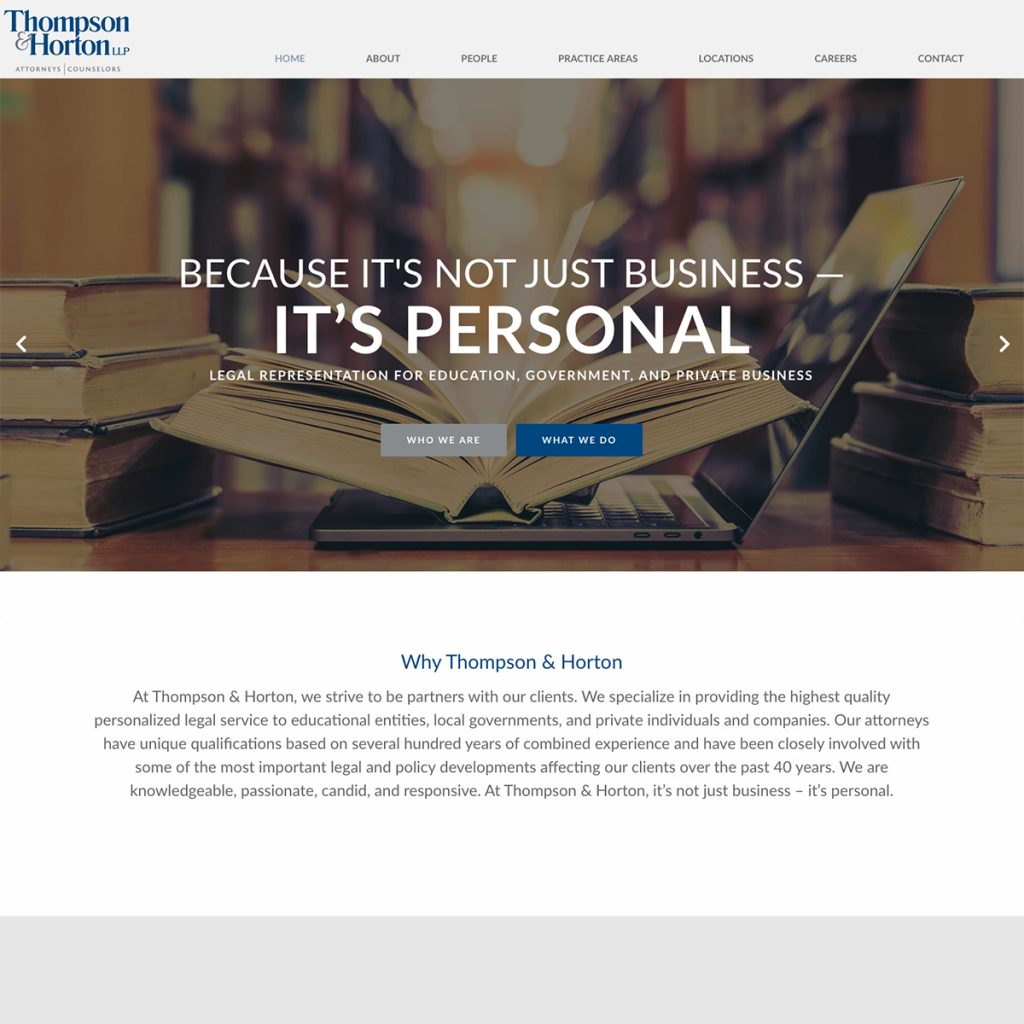 Professional web design services for law firms and attorneys.